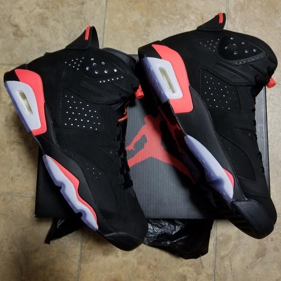 finest selection 9dc79 48d11 2014 Nike Air Jordan 6 Retro Black/infrared